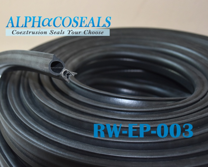 ซีลยางกระดูกงู ซีลตู้อบ RW-EP-003
